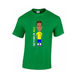 Neymar Player T-shirt (green)