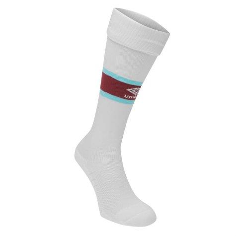 2016-2017 West Ham Away Football Socks (White)