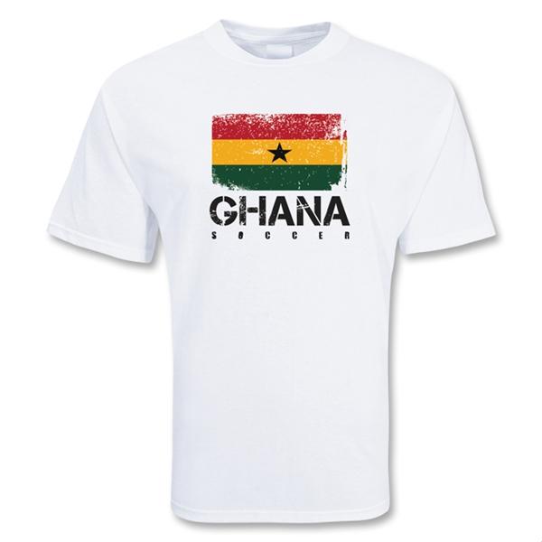 Brand new Ghana Soccer T-shirt [TSHIRTWHITEKIDS,TSHIRTWHITE] - Uksoccershop XB87