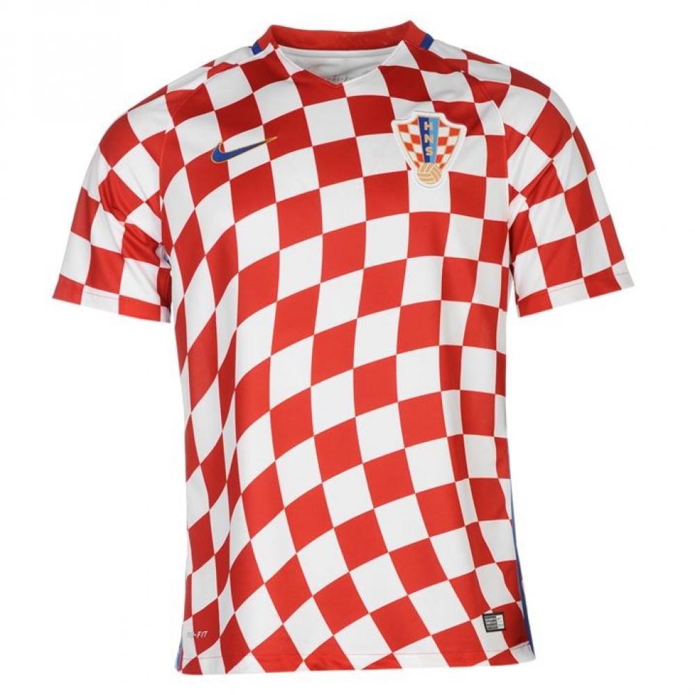 c04dbb6cee0 ... National Team Soccer Jerseys 2016-2017 Croatia Home Nike Football Shirt  (Kids) ...
