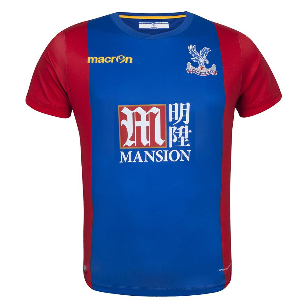 2016-2017 Crystal Palace Macron Home Football Shirt 038ee89d1