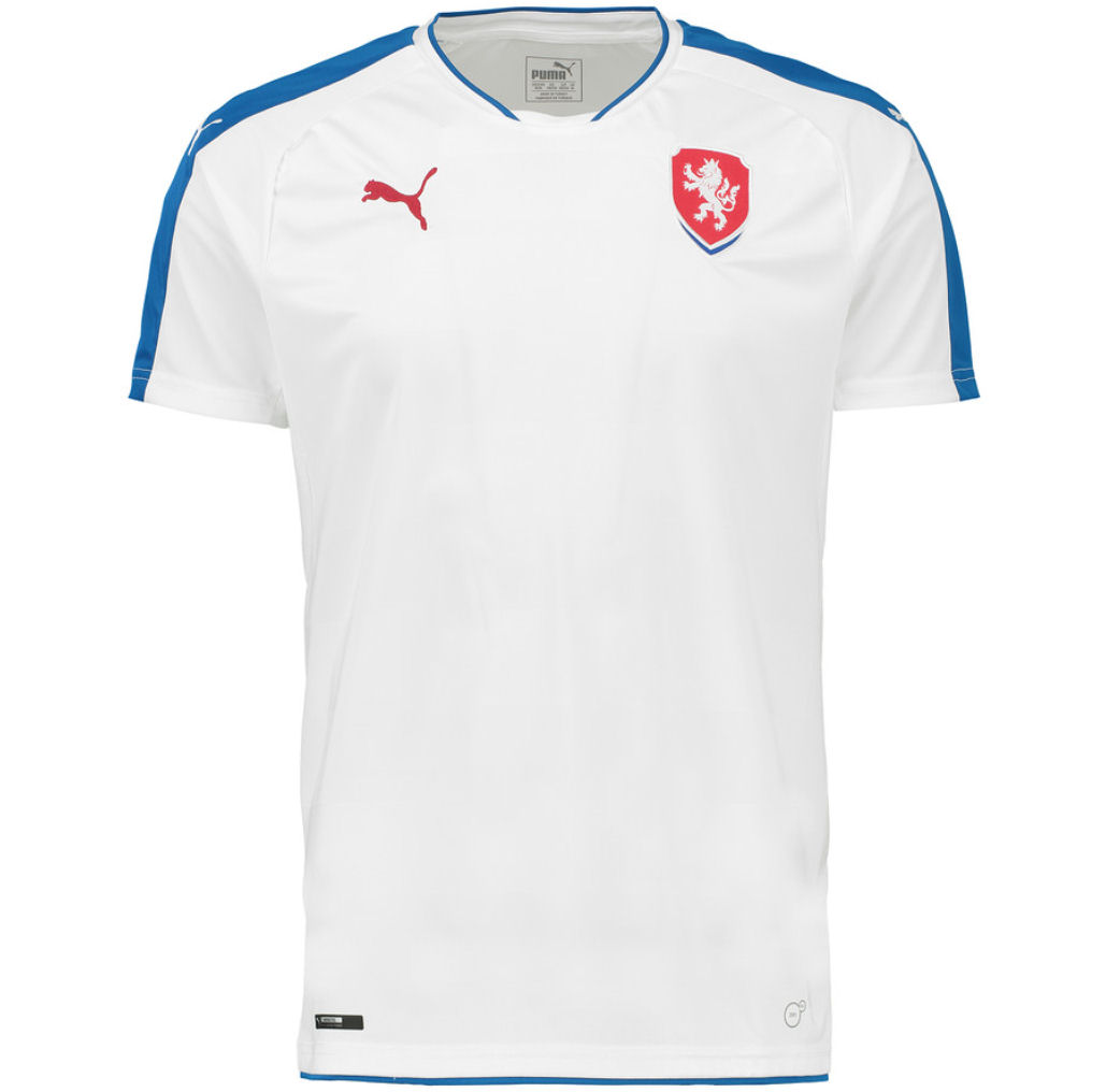 fe52d2fa4 2016-2017 Czech Republic Away Puma Football Shirt