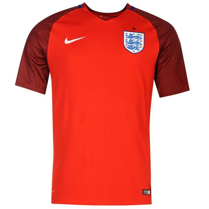 8080da49a07 2016-2017 England Away Nike Football Shirt (Kids)