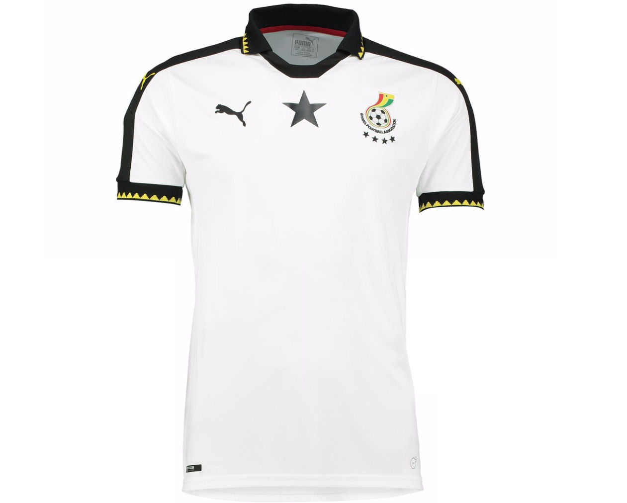 Well known 2016-2017 Ghana Home Puma Football Shirt [74857701] - Uksoccershop SI47