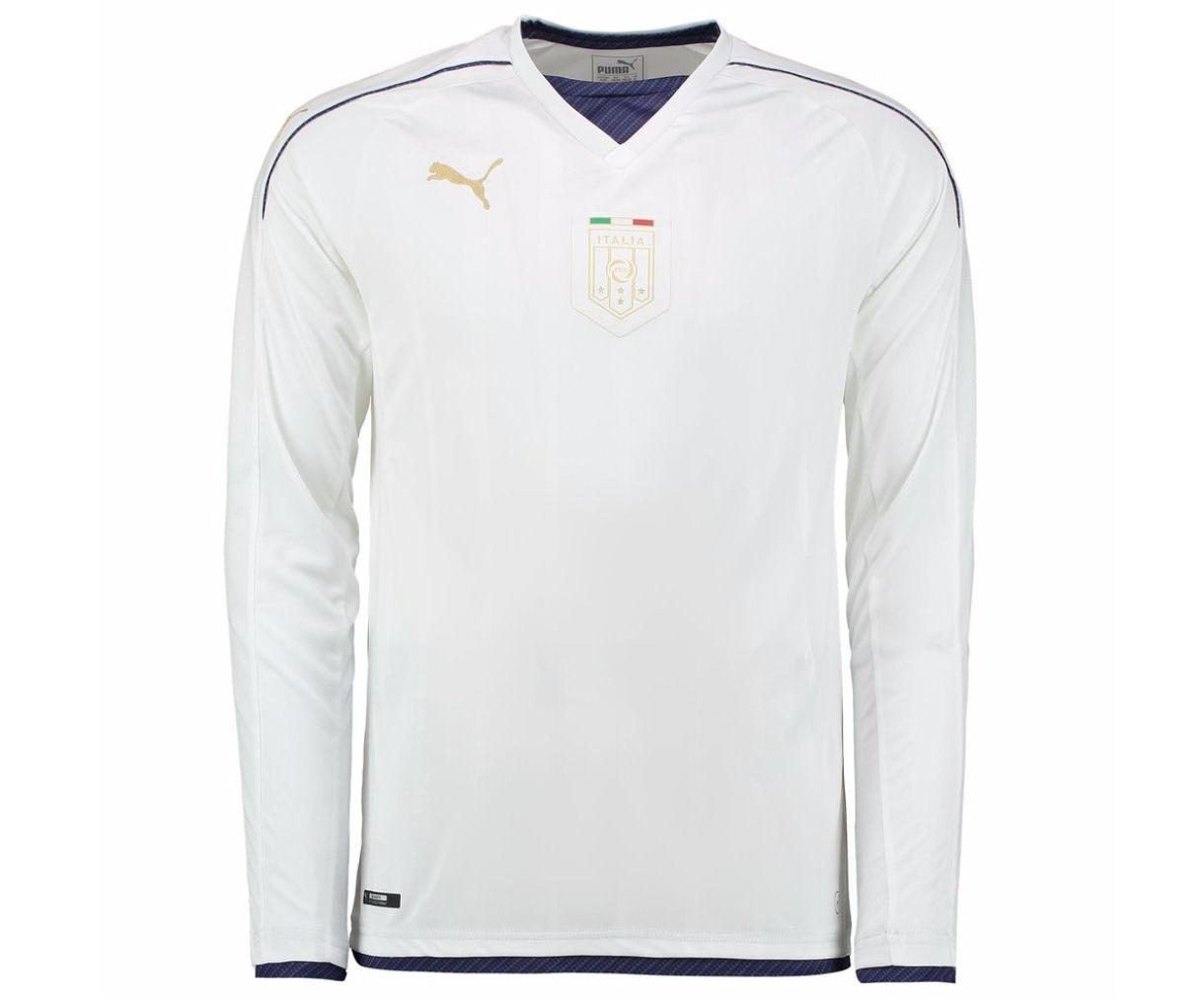 7cbe689b55 Italy 2006 Puma Tribute Away Long Sleeve Shirt
