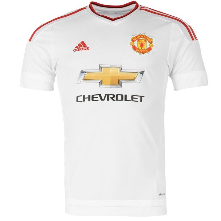 7005f96d564 2015-2016 Man Utd Adidas Away Football Shirt (Kids)