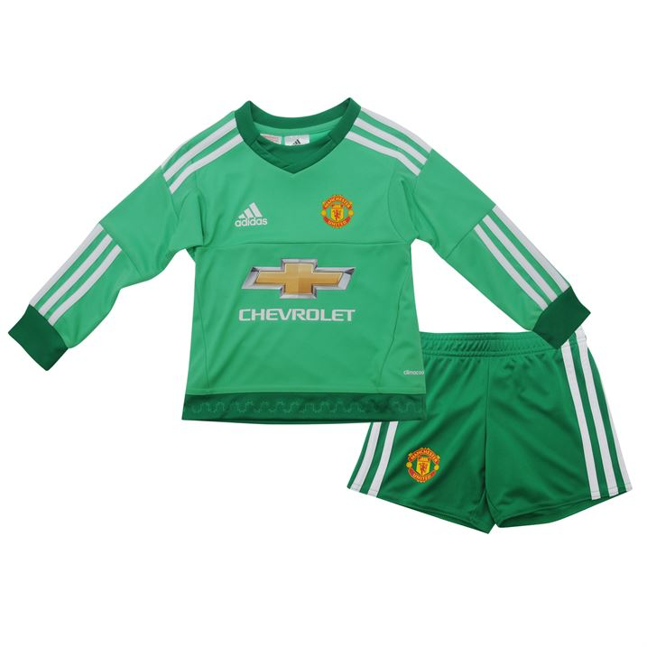 low priced f4aab 2316e manchester united 1 de gea green goalkeeper long sleeves ...