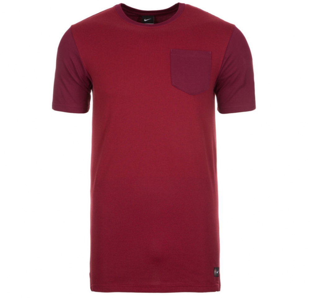 f3562151b0b ... Home Shirt 201718 2016-2017 Portugal Nike Authentic Sideline Top (Red)  ...
