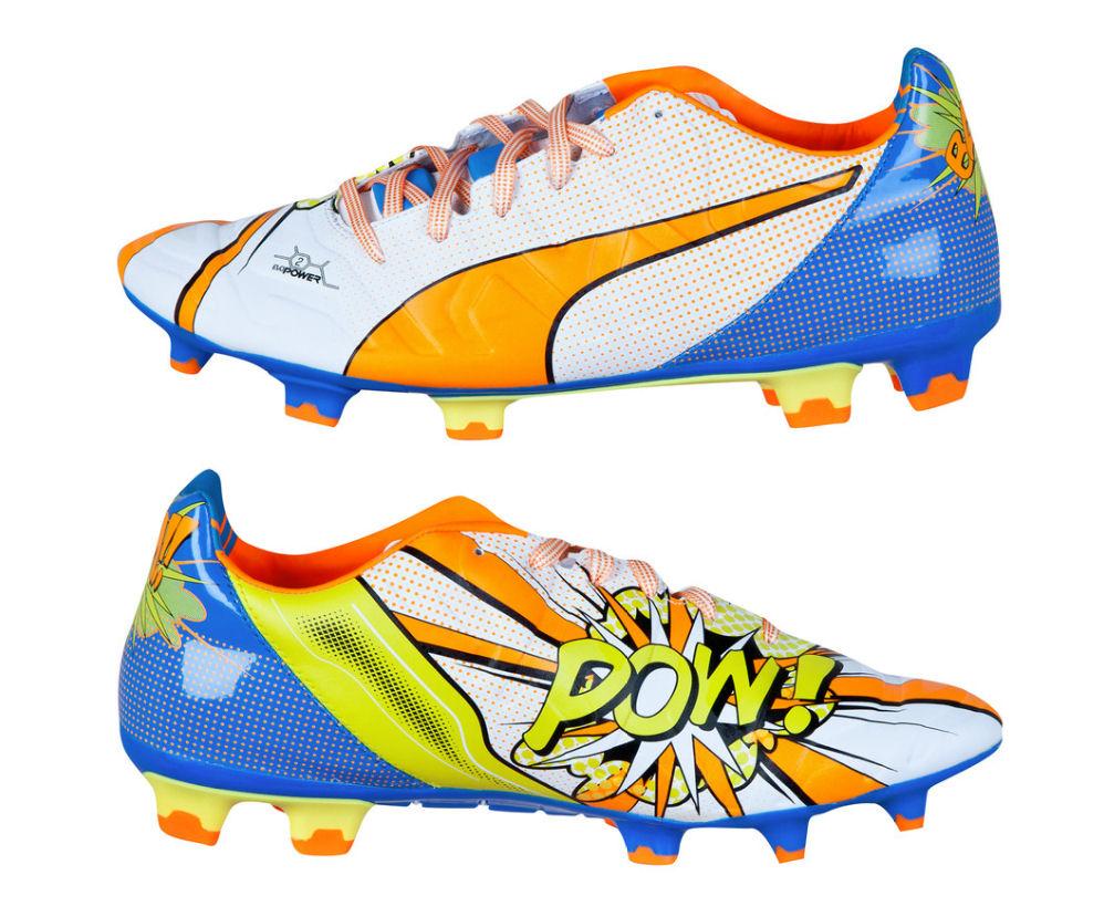 Puma Evopower 2.2 Pop FG Football Boots (White) [10348501] - Uksoccershop