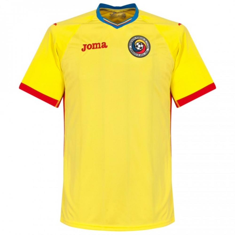 2016-2017 Romania Home Joma Football Shirt (Kids) 8348f403a