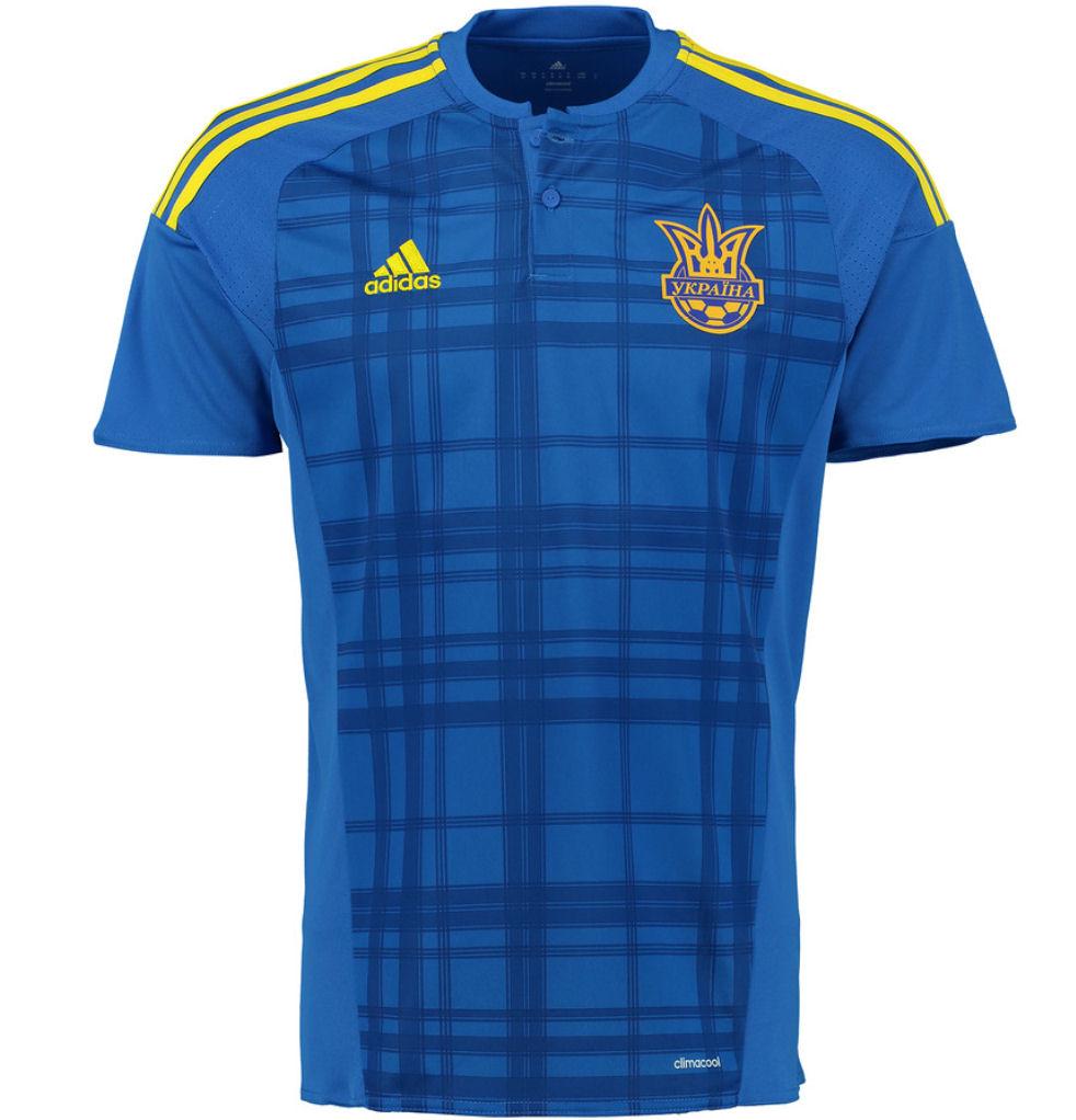 2016-2017 Ukraine Away Adidas Football Shirt