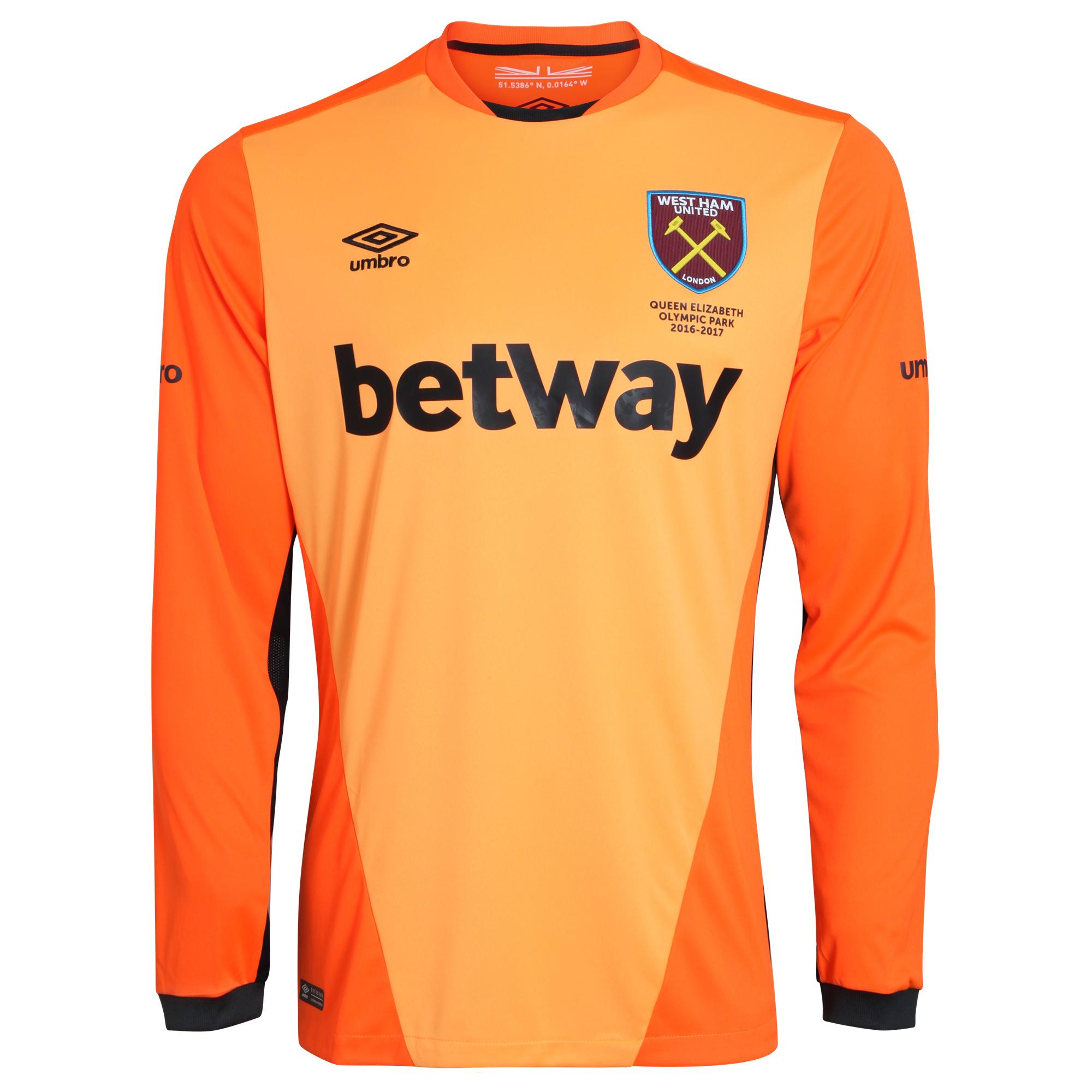 2016-2017 West Ham Home Goalkeeper Shirt 23bcdd846